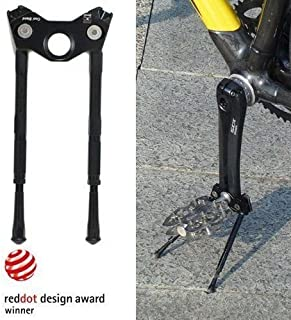Gearoop CS-040 Bike Bicycle CoolStand Aluminum Adjustable Side Stick 33-39mm, Black , ST1443