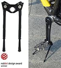 Gearoop CS-040 Bike Bicycle CoolStand Aluminum Adjustable Side Stick 33-39mm, Black , ST1443