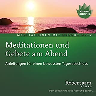 Meditationen und Gebete am Abend Titelbild