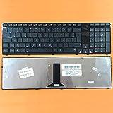 kompatibel für ASUS K95, K95V DEUTSCHE - Schwarz Tastatur Keyboard mit Rahmen