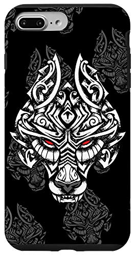 iPhone 7 Plus/8 Plus Viking Fenrir Symbol - Son Of Loki - Wolf Norse Mythology Case