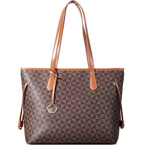 Lekesky Tote Bag for Women Stylish Handbag Faux Leather Shoulder Bag for...
