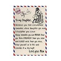 1000 ピース ジグソーパズル,To My Daughter Love Your Mom Picture Puzzle 大人 子供 の 木製パズル ジグソーパズル 知育減圧親子ゲーム 玩具クリスマス誕生日diyギフト クリスマス プレゼント ジグソーパズル