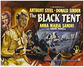 The Black Tent Movie Poster (30 x 40 Inches - 77cm x 102cm) (1956) UK -(Donald Sinden)(Anthony Steel)(Anna-Maria Sandri)(André Morell)(Terence Sharkey)(Donald Pleasence)