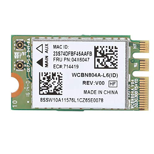 Tosuny Drahtloses Netzwerk, Dual Band Wireless-Netzwerkkarte für Qualcomm Atheros QCNFA34AC, Bluetooth 4.0-Netzwerk für WIN7/WIN8/WIN10.