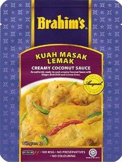Brahim's クリーミーココナッツソース (3~4人分)3袋