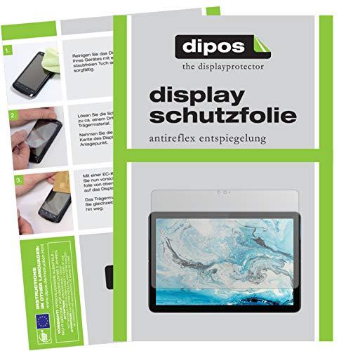 dipos I 2X Schutzfolie matt kompatibel mit Lenovo IdeaPad Duet Chromebook Folie Displayschutzfolie