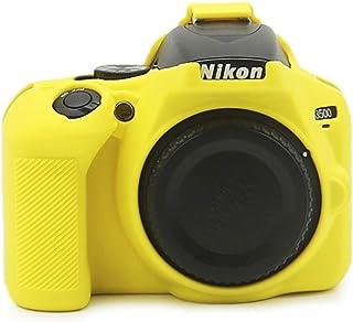 kinokoo Schutzhülle für Nikon D3500, Silikon, für Nikon D3500, Gelb