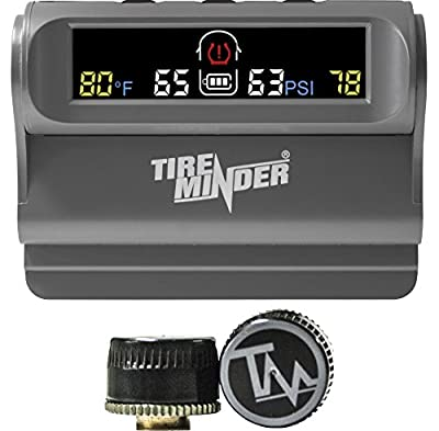 Minder Research Inc. TPMS-TRL-2 Tire Monitor Solar Powered W/2