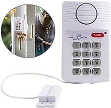 Binmer Wireless Door Alarm,Wireless Security Keypad Alarm System With Panic Button Shed Garage Caravan Door