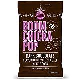 Angie's BOOMCHICKAPOP Dark Chocolaty Drizzled Sea Salt Kettle Corn Popcorn, 5.5 Ounce Bag (Pack of 12 Bags)