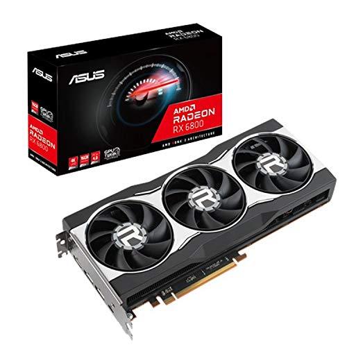ASUS AMD Radeon RX 6800 搭載 トリプルファンモデル 16G RX6800-16G
