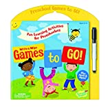 Peaceable Kingdom Preschool Write and Wipe Games to Go! Activity Book