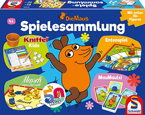 Die Maus, Spielesammlung: Kinderspiele