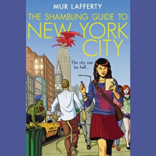 The Shambling Guide to New York City audiobook cover art