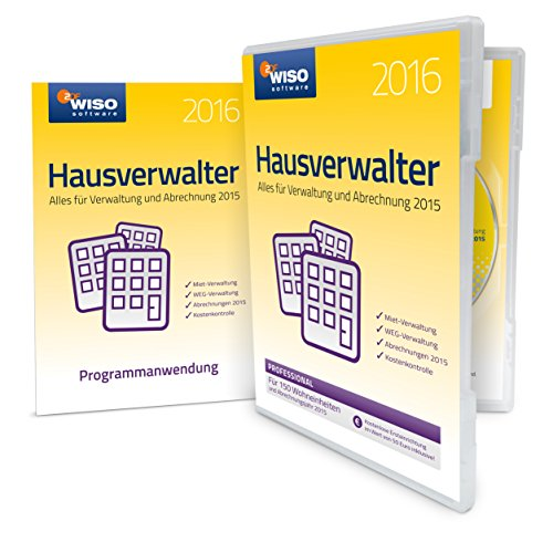 WISO Hausverwalter 2016 Professional (Frustfreie Verpackung)