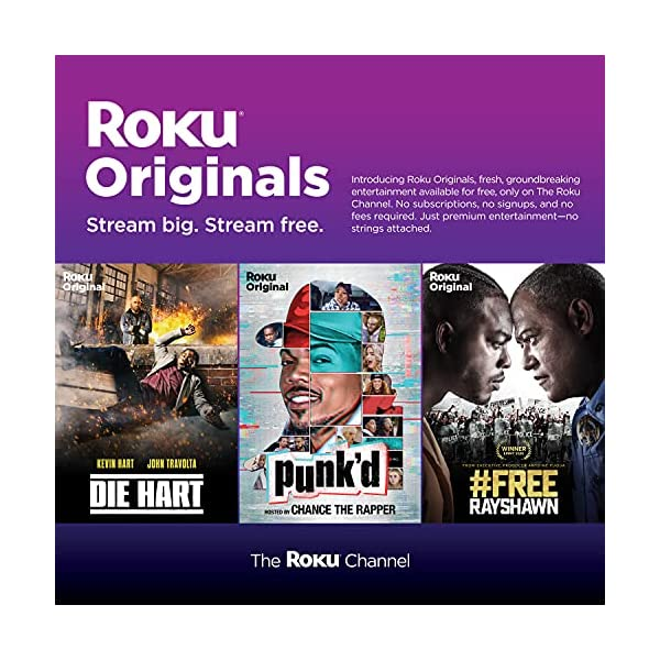 Roku Ultra | Streaming Device HD/4K/HDR/Dolby Vision with Dolby Atmos, Bluetooth Streaming, and Roku Voice Remote with…