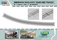 ホビーボス 1/72 ファイティングビークルシリーズ ドイツ軍 鉄道軌道セット (曲線レール) プラモデル 82910