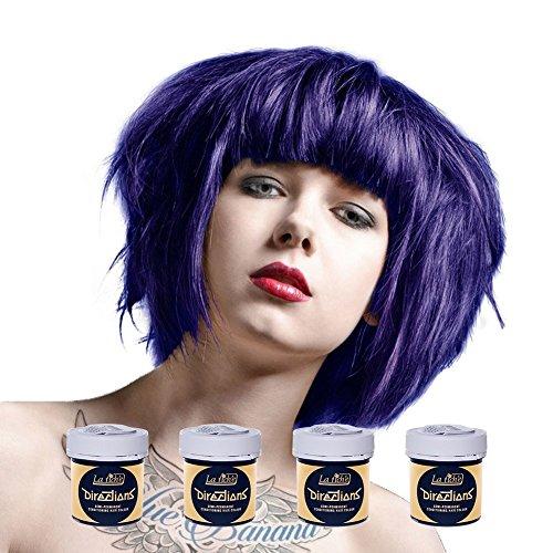 La Riche Directions Semi Permanent Midnight Blue Hair Colour Dye x 4