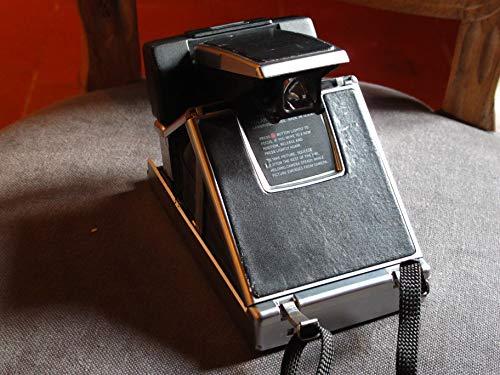 POLAROID, SX-70 - Fotocamera ricondizionata, colore: nero.