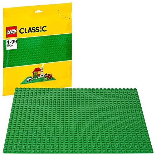 LEGO Classic BaseVerde Extraper Costruzioni, Piattaforma25 cm x 25 cm, 10700
