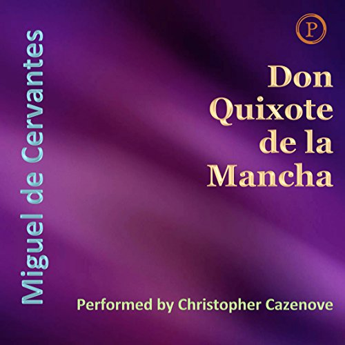 Don Quixote de la Mancha audiobook cover art