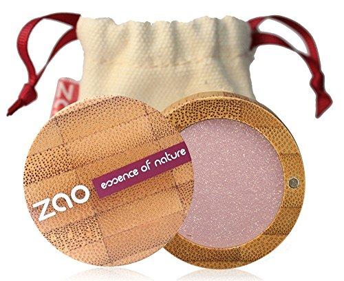 ZAO Pearly Eyeshadow 102 pinky beige rosa-beige Lidschatten schimmernd / Perlglanz in nachfüllbarer Bambus-Dose