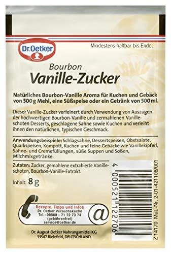 Dr. Oetker Bourbon Vanillezucker (13 x 24 Gramm) - 3