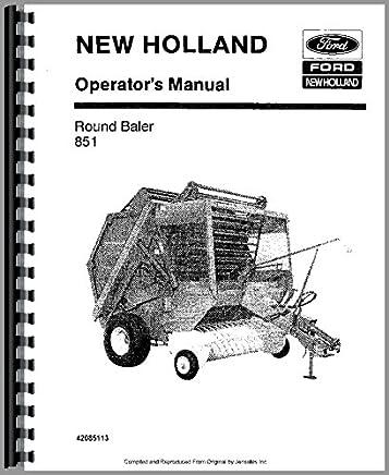 Amazon com: Round Baler Manual: Books