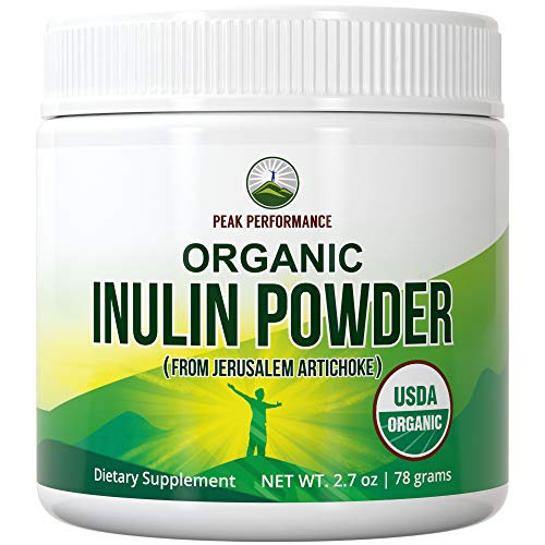 in budget affordable Organic inulin powder is a natural prebiotic fiber for intestinal health.  USDA Organic Raw Whole Food Factory …