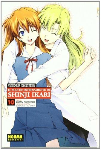Neogénesis Evangelion 10 El plan de entrenamiento de Shinji Ikari / Neon Genesis Evangelion 10 The training plan of Shinji Ikari
