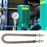 Zoom IMG-1 tubo riscaldante elettrico alettato in