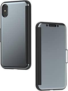 Moshi StealthCover Portfolio Case for iPhone X - Shockproof, Drop Protection - Antiscratch - Wireless charging compatible ...