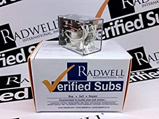 RADWELL VERIFIED SUBSTITUTE HC4-P-115VACSUB Relay - 120VAC, 5A 4PDT Plug in Relay- Replaces AROMAT PN: HC4-P-115VAC