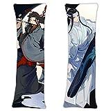 NiyoKE Magic Ancestors The Founder of Diabolism The Untamed Wei Wuxian LAN Wangji Anime Pillowcase 2Way Tricot 62.9in x 19.6in Cute Body Pillowcase Cartoon Hug Pillow Case