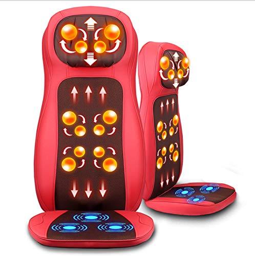 YUXINCAI Ganzkörper-Multifunktions-Elektro-Massagekissen Car Home Neck Waist Back,83cm*51cm*49cm