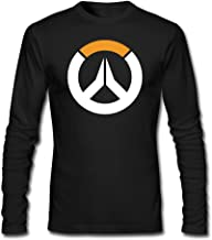 Men Overwatch Sombra ARG Logo Hero Tshirt Long Sleeve