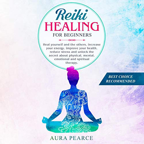 Reiki Healing for Beginners cover art