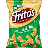 9.25 oz. bag of FRITOS Spicy Jalapeno Flavored Corn Chips Perfect FRITOS in-between meals snack Add to your grocery list to help stock up the pantry