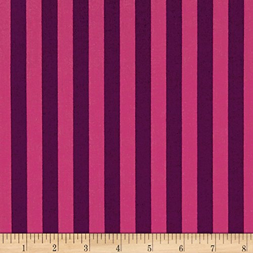 Freespirit Fabrics FreeSpirit Tula Pink All Stars Tent Stripe Foxglove Fabric by the Yard