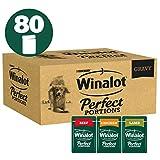 Winalot Perfect Portions Dog Food Meat Gravy, 80 x 100 g