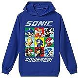 Silver Basic Niños 2D Impreso Sonic The Hedgehog Sudadera con Capucha Película Video Juego Sonic Cosplay Disfraz Sonic Shadow Sudadera Sonic Jumper 120,Azul Sonic Cosplay-2