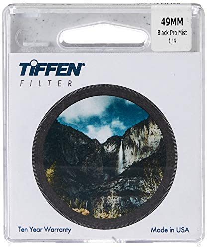 Tiffen Filter 49MM BLACK PRO-MIST 1/4 FILTER