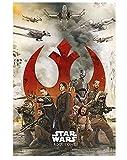 Rompecabezas de 1000 piezas para adultos, 1000 piezas para adultos y adolescentes divertidos juegos de puzzles -'Rogue One: A Star Wars Story' (70 x 50 cm)