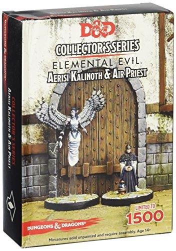 Gale Force Nine GF971043 - Brettspiele, Temple of Elemental Evil, Aerisi Kalinoth und Priest, 2 Figur