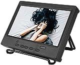 Bewinner 7 Pulgadas 1024 x 600 Monitor Portátil Pantalla Multifunción Compatible con HDMI/VGA/AV Entrada para Raspberry Pi, Pantalla de Automóvil, CCTV, etc 8ms Tiempo de Respuesta(EU pulg)