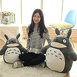 W-XY Totoro 30-70cm, Peluches Bebe Suave y Seguro, Sentirse Cómodo Juguete Mejor Regalo para Niños, Parejas, Mascotas - Gris,B,30cm