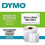 DYMO LW Etichette Multiuso Originali, Autoadesive, per Etichettatrici LabelWriter, 1 Rotol...