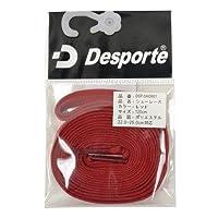 Desporte(デスポルチ)【DSP-SHOR01】フットサル シューレース 靴ひも レッドレッド 120