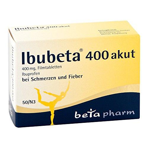 Ibubeta 400 akut Tabletten, 50 St. Tabletten